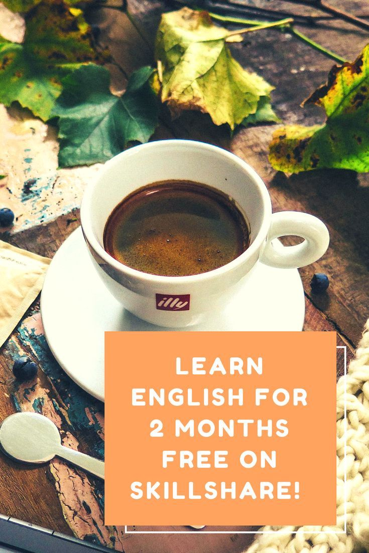 Get 2 free months of Skillshare membership with this link. Join our English learning courses.