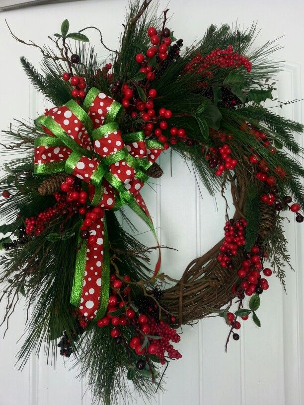 Grapevine Christmaswinter wreath by kyong 3101 best