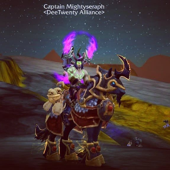 This week's mount: The Prestigious Bronze Courser  Obtained