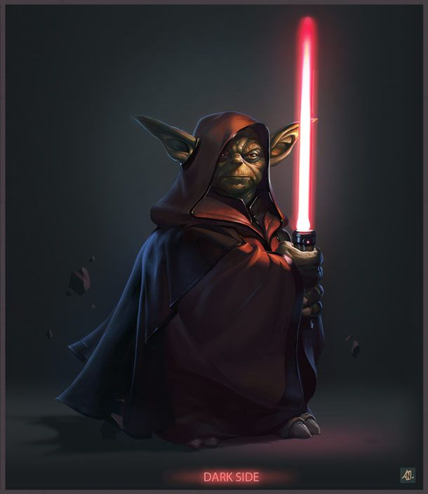 darth yoda by niconoff