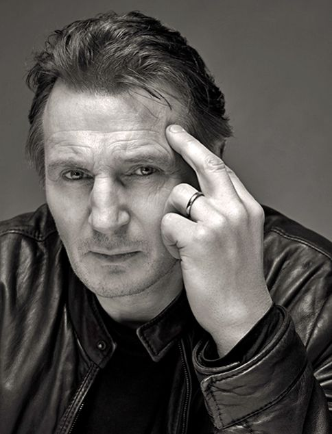 Liam Neeson - yes I know he's probably almost double may age  but gosh this man oozes sex appeal.
