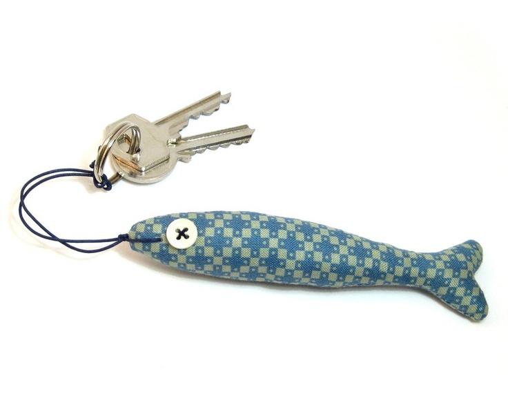 Ornamental Stuffed Fabric FISH by olula on Etsy, $11.20