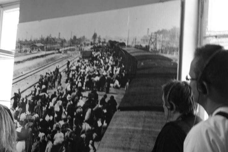 German extermination camp in Poland