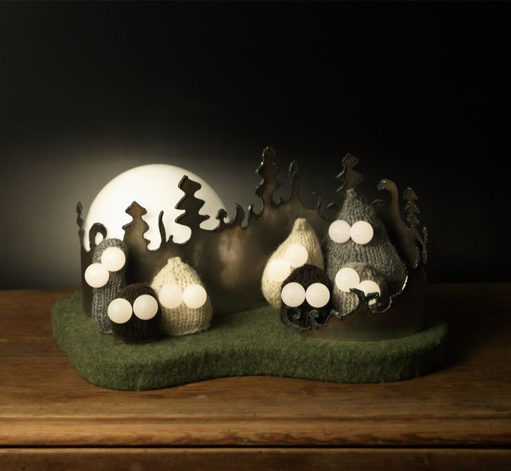 Happy To Introduce The Troll Forest Night Lamp!   Aud Julie Befring Product  Design