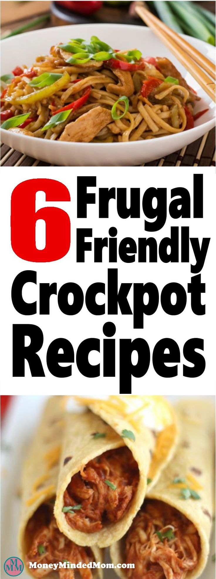 6 Frugal Friendly Crock Pot Meals ~ Crock pot meals are a great time and money saver in the kitchen. Check out these 6 delicious crockpot recipes that your family is sure to love!! crockpot | slowcooker | meal planning | cheap meals | frugal recipes | recipes #crockpot #mealplanning #slowcooker #recipes
