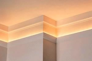 Crown Moulding and Cove Lighting - Brand Lighting Discount Lighting - Call Brand Lighting Sales 800-585-1285 to ask for your best price!