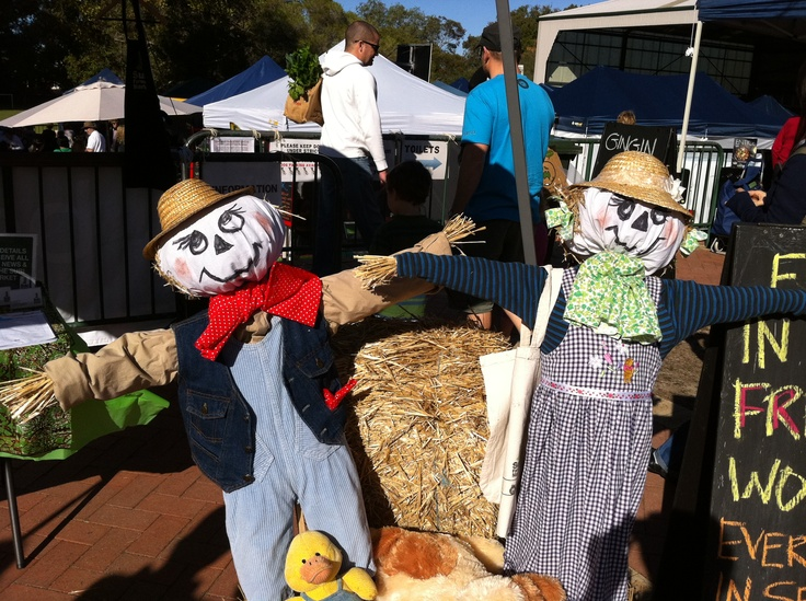 Scarecrow kids @ our farm workshops!
