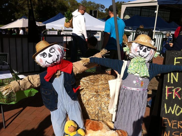 Scarecrow kids @ our farm workshops!