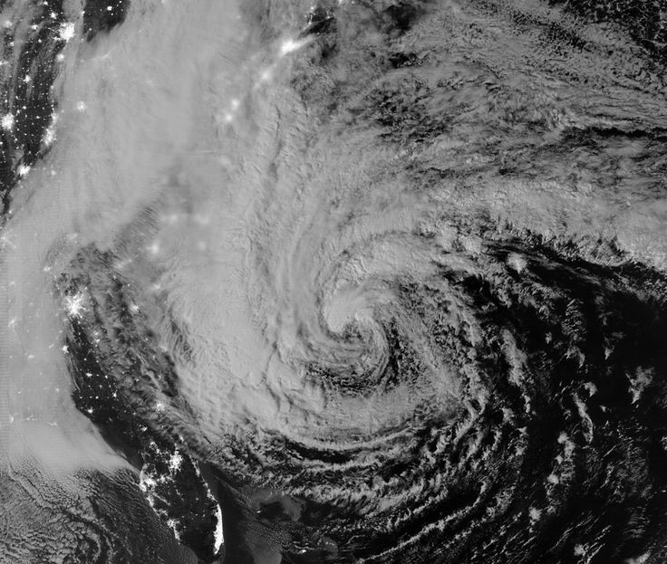 2 This nighttime satellite image of Hurricane Sandy was acquired by the Visible Infrared Imaging Radiometer Suite (VIIRS) on the Suomi NPP satellite around 2:42 a.m. Eastern Daylight Time, on October 28, 2012. (Suomi NPP, NASA, NOAA) #