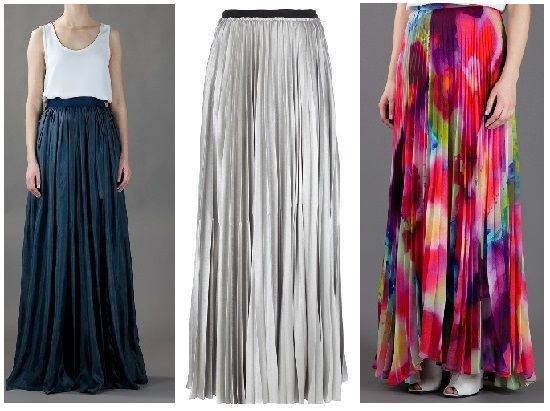 Geplooide maxi jurken Lanvin Alice + Olivia Enza Costa metallic zilver petrol blauw bloemen