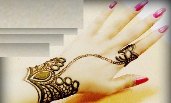 Mehndi Designs for hands: Amazing henna designs For girls #bracelet