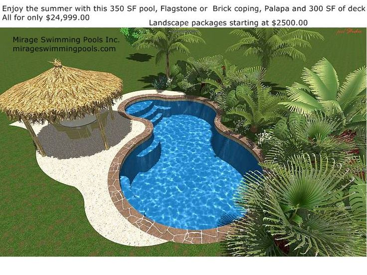 small inground pools for small yards | Swimming Pool Specials - Houston Swimming Pools in Conroe Texas Mirage ...