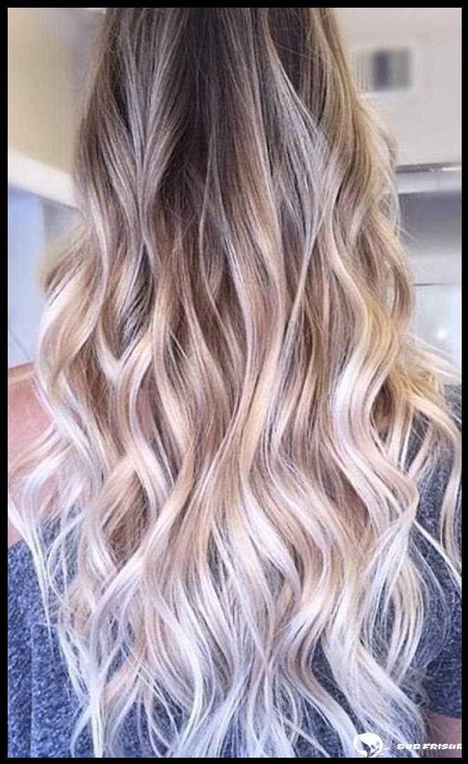 46 wunderschöne Balayage-Haarfarbe-Ideen für blondes kurzes glattes Haar, #BalayageHaarfarbe…