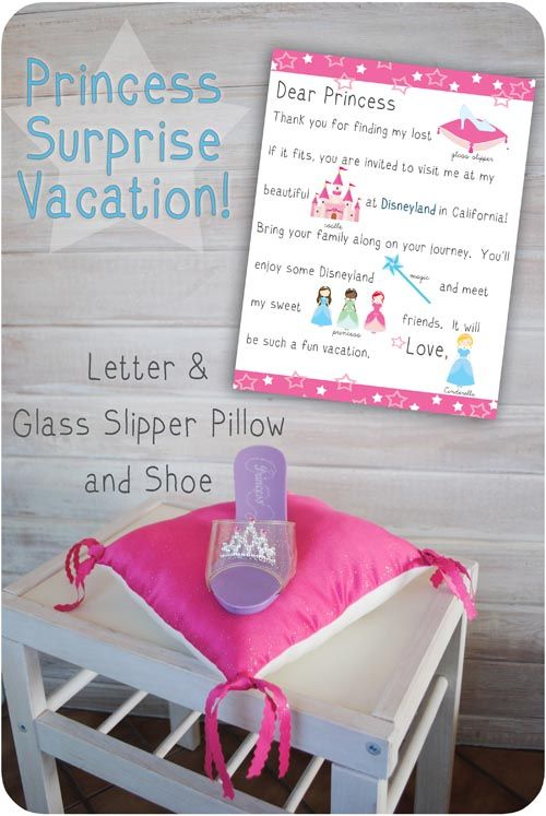 disneyland vacation surprise, such a fun and cute idea! Perfect for the holidays!
