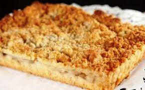Cuca de Banana Gaúcha Massa: 1 colher de fermento em pó 3 xícaras de farinha de trigo 2 xícaras de açúcar 1 xícara de leite ½ copo de óleo 4 ovos Farofa: 1 e ½ colher de canela em pó 2 e ½ colher de margarina 2 xícaras de farinha 1 xícara de açúcar Original em: http://www.almanaqueculinario.com.br/receita/cuca-de-banana-gaucha-23475