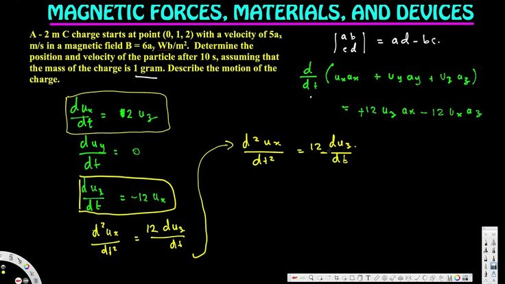 Describe the motion of the charge. - Forces Due to Magnetic Fields - Ele...