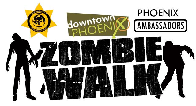 Phoenix Comicon - Zombie Walk. I didn't make it to this event but I heard that the zombies crashed a wedding. Lol!