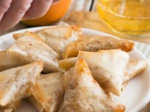 Samoussas aux pommes et camembert • Hellocoton.fr