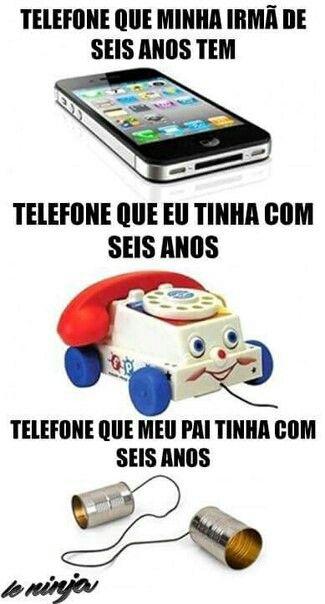 Telefone de criança