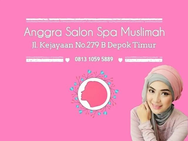 Beauty is not pain Beauty is cheap Beauty is simple The real beauty is in your iman.... . .  Dear ukhti jangan ketinggalan promo perawatan HEMAT di Anggra Salon Spa Muslimah @anggramuslimah  . .  Selain discount perawatan dari ujung rambut sampai ujung kaki up to 50%. . .  Kami juga berikan GRATIS Creambath setiap hari senin untuk setiap muslimah yang membaca Al-Qur'an di salon kami. . .  Lokasi : Jalan Kejayaan No 279 Depok Timur Ph/Wa : 0813 1059 5889 Bbm : 5A078C4 Line…