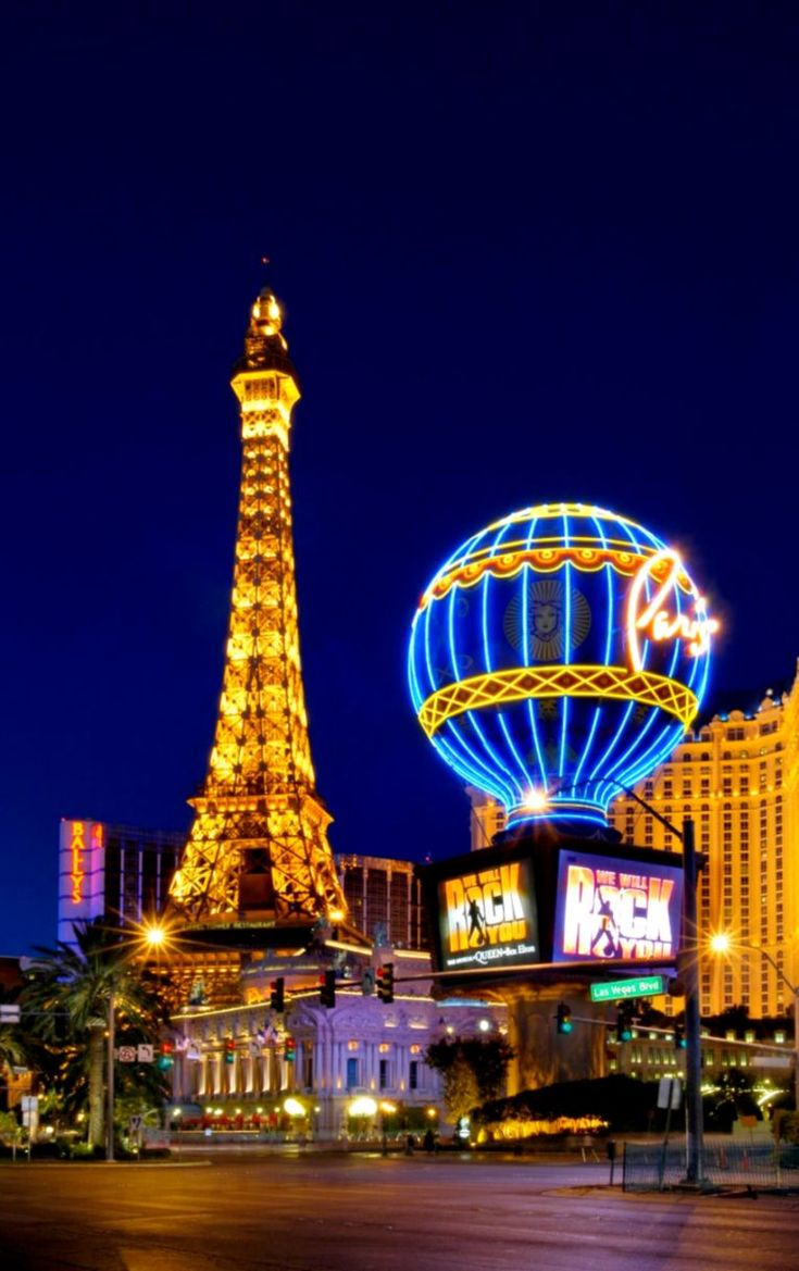 10 Things to do on a vacation in Las Vegas Paris las