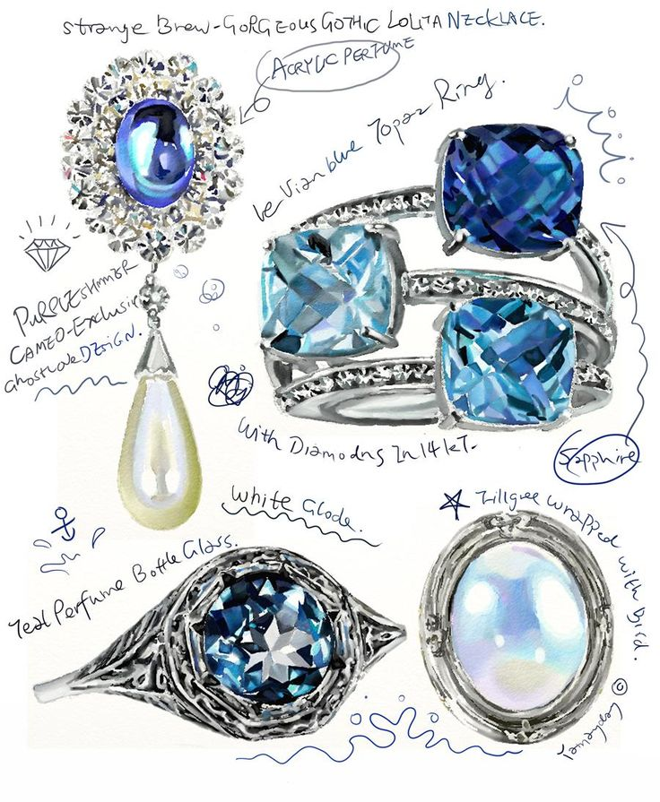 875 best Jewelry design images on Pinterest Drawings of Jewelry