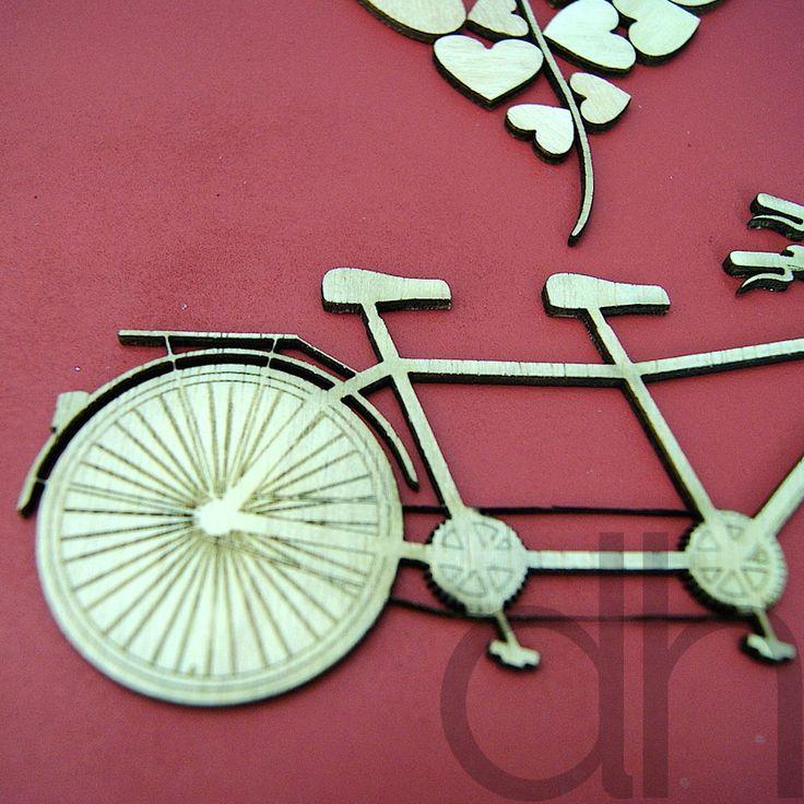 Un nuevo cuadro de firmas que ha salido de la fábrica de DonHappy! Esperamos que os guste tanto como a nosotros, es una bicicleta tandem super especial con todo detalle