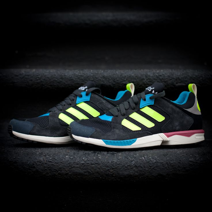 This week's #kickoftheweek: the #adidasOriginals ZX 5000 RSPN. A reinvention of the ZX aesthetic for 2014 with vivid new colourways and all of the original edge. #zxfamily