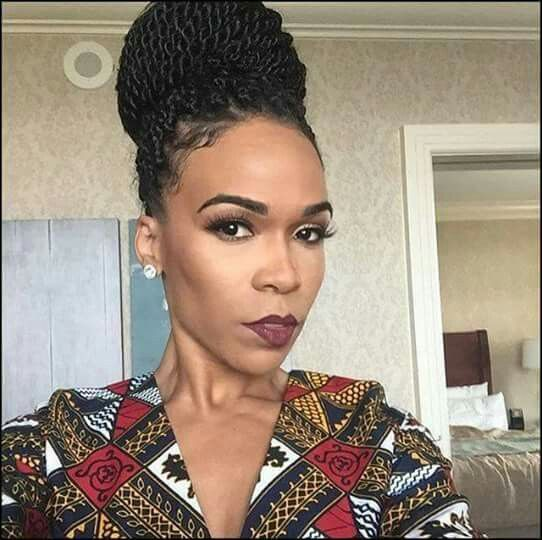 Stunning Senegalese Twists Bun 3 Ways To Install Similar Senegalese Twists Style Here:www.naturalhairmag.com/3-ways-style-senegalese-twists/ IG:@realmichellew #naturalhairmag