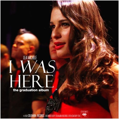 Glee: The Graduation Album | I Was Here Alternative Cover