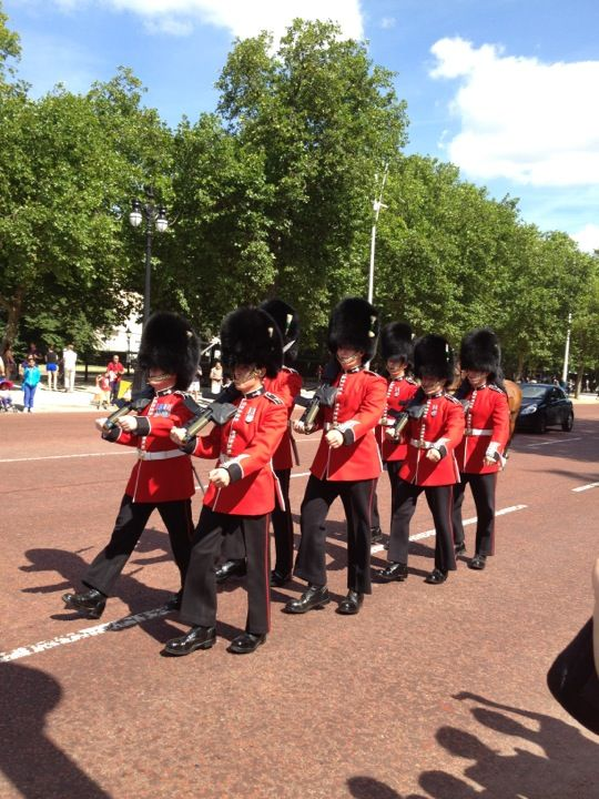 Changing of the Guard in London, Greater London
