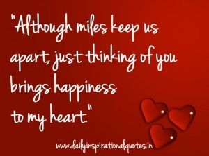 Thinking of you love quotes