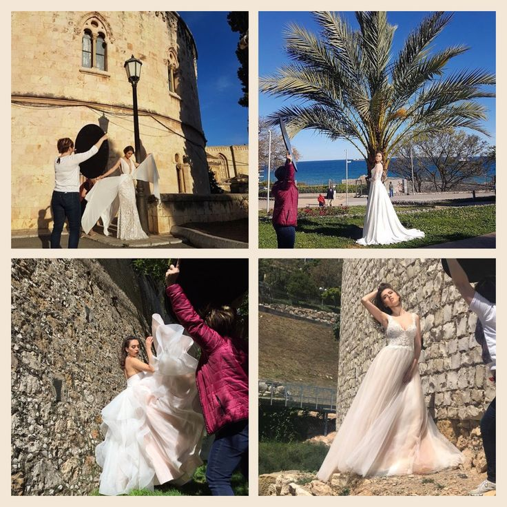 A large team of people worked on the creation of this photoshoot   Look at how it was!   Some of the photos of our new stunning collection Barcelona Dreams are ready and posted on our official pages in social networks and on our website www.tinavalerdi.com.  Follow us to be up to date on all relevant news ☝