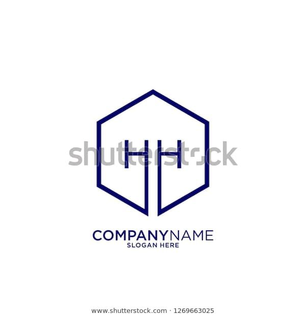 Find Hexagon Hh Logo Letter Design Concept Stock Images In Hd And Millions Of Other Royalty Free Stock Photos Lettering Design Letter Logo Letter Logo Design