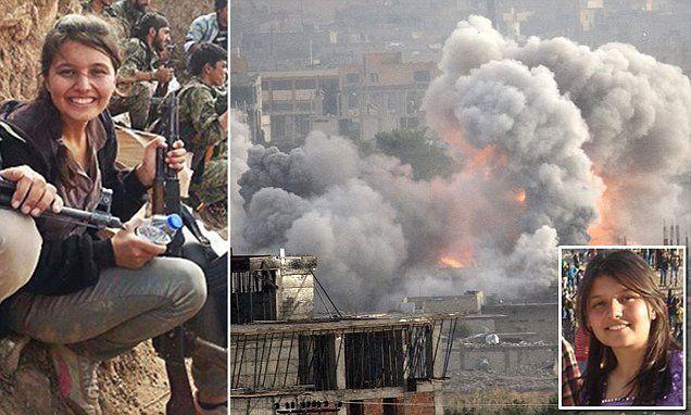 The women warriors who are terrifying the jihadis in Kobane