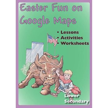 Great worksheets for Middle School students based around the story of Easter and everything connected with Easter (Easter Eggs - chocolate and non-chocolate!, Easter Island, the Easter sites of significance, and more.) Use Google Maps to complete the worksheets Learning objectives include: • Ability to calculate distances in Google Maps • Able to load a database to Google Maps • Ability to insert Placemarker information in Google Maps • Ability to use creativity and imagination in developing…