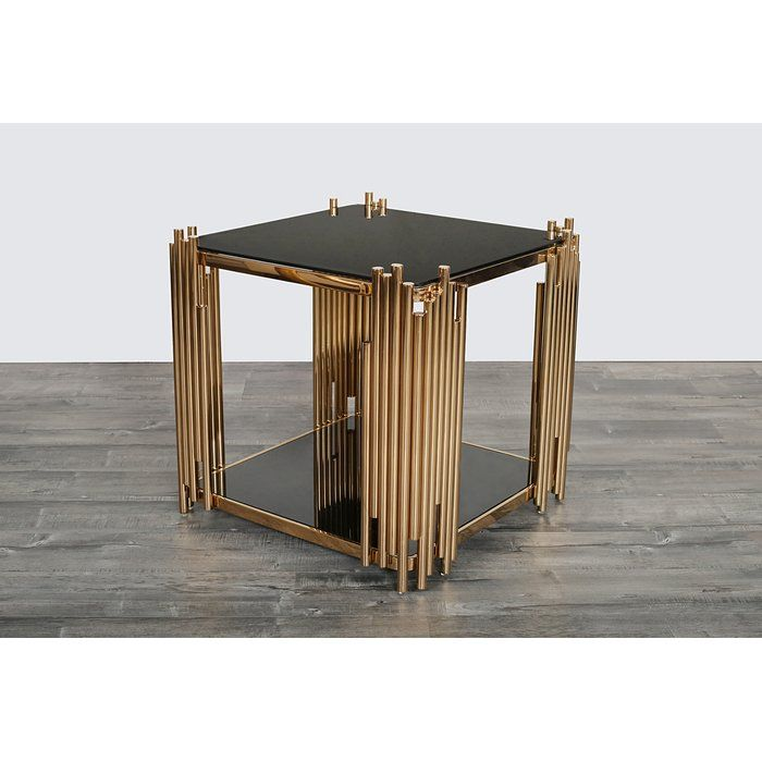 Elegant Mauris Square End Table Review - Best of small square coffee table Picture
