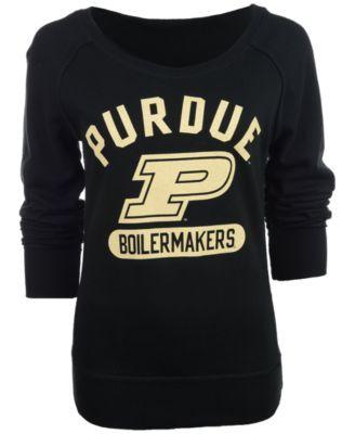 Camp David Women's Scoop-Neck Purdue Boilermakers Sweatshirt