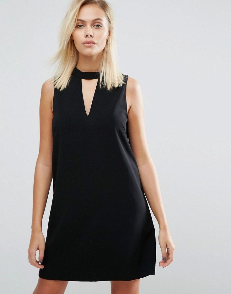 Buy it now. Greylin Dawnson Mock Neck Shift Dress - Black. Evening dress by Greylin, Lightly-textured woven fabric, Fully lined, Crew neck, Cut-out front, Hook and eye closure, Zip-back fastening, Regular fit - true to size, Dry clean, 100% Polyester, Our model wears a UK S/EU S/US XS and is 168cm/5'6 tall. , vestidoinformal, casual, camiseta, playeros, informales, túnica, estilocamiseta, camisola, vestidodealgodón, vestidosdealgodón, verano, informal, playa, playero, capa, capas…