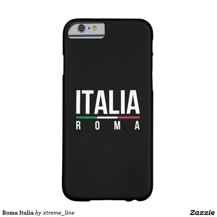 Roma Italia Barely There iPhone 6 Case. #Rome