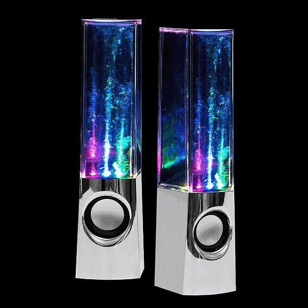 Get these while you can! Last year Crazy Lights Magic Water Speakers ($43) hit the tail end of the holiday shopping season, and only a lucky few were able to purchase them in time for the holiday. This year, they're available earlier in the season, and if the squeals of excitement I witnessed as a group of tween girls came upon them is any indication, they're a guaranteed hit. Simply fill the speakers with water; plug them in to your computer, phone, or anything else with a USB port; and ...