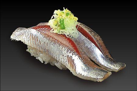 いわしの握り Sardine nigiri