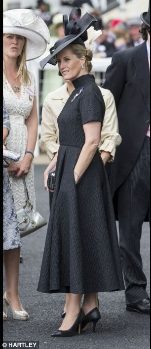 Sophie Countess of Wessex at Ladies Day at Royal Ascot 19 June 2014