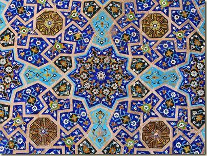 Mosaic - Shiraz, Iran