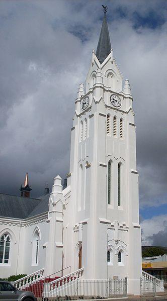 Die NG kerk op Bredasdorp, die kern waarom Bredasdorp ontwikkel het.