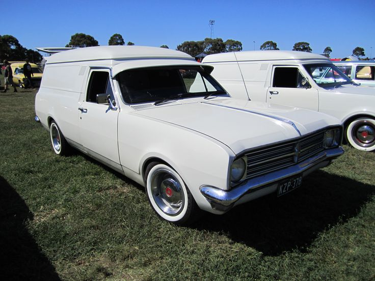 Holden Belmont HK Panel Van (Australian)