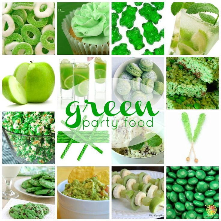 Green Party Food