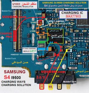 samsung galaxy s4 I9500 charging problem solution