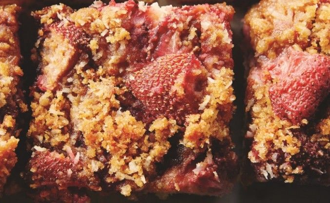 Recipe for Gâteau aux Fraises (Strawberry Season Cake) by Taste Canada finalist Made in Quebec: A Culinary Journey and Julian Armstrong for Gusto TV.