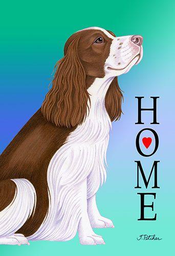 Garden Indoor/Outdoor Home (TP) Flag - English Springer Spaniel 620311 in Collectibles, Animals, Dogs | eBay!